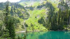Home Lake, Constance Pass, Olympic National Park, Washington State