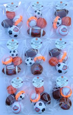 Baby shower ideas for boys themes sports all star party favors 40 Ideas for 2019 Sports Party Favors, Sports Themed Birthday Party, Boy Party Favors, Ball Birthday Parties, Birthday Party Decorations, Boy Birthday, Birthday Ideas, Sport Theme Parties, Hockey Birthday