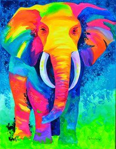 Tetiana Gorbachenko - elephant ♥༺❤༻♥ Beautiful