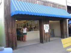 Britt's Donut Shop at the Carolina Beach Boardwalk in Wilmington, NC