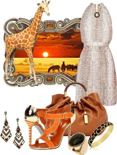 """""""WildLife"""" by anna-campos ❤ liked on Polyvore"""