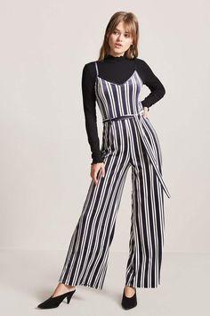 Product Name:Stripe Velvet Jumpsuit, Category:dress, Price:17.9