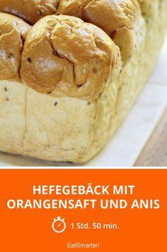 Hefegebäck mit Orangensaft und Anis - smarter - Zeit: 1 Std. 50 Min. | eatsmarter.de
