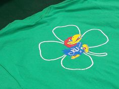 St. Patty's Day :: Rock Chalk! #grandstand #egrandstand #Lawrence #Kansas #apparel #custom #tshirt #tee #MarchMadness