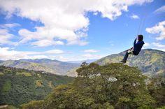 Edge of the World Swing, Ecuador