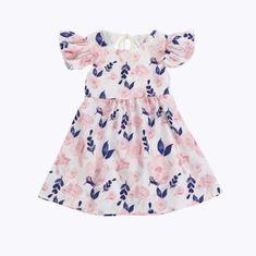 a8a67a35d67 Spring Pink and Blue Floral Dress. Manga FloralBaby Dress DesignBaby Design Baby BoutiqueKids ShopNewborn ...