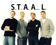 Marc, Eric, Jordan, and Jared Staal