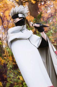 Cosplay-kakashi hatake from naruto shippuden Cosplay Anime, Naruto Cosplay, Cosplay Makeup, Amazing Cosplay, Best Cosplay, Naruto Art, Anime Naruto, Anime Costumes, Cosplay Costumes