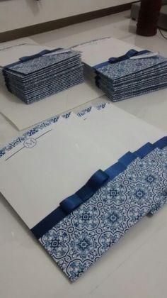 Convites inspirados em azulejos portugueses!