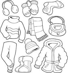 winter coloring pages for preschoolers. Winter is snow, it is an inseparable thing. Winter is always awaited by almost everyone, especially children. Even though the temperature is cold, man. Coloring Pages Winter, Preschool Coloring Pages, Printable Coloring Pages, Coloring Pages For Kids, Coloring Sheets, Coloring Book, Winter Crafts For Kids, Winter Kids, Winter Outfits