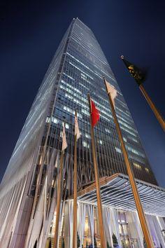 China World Trade Center Tower 3 in Beijing