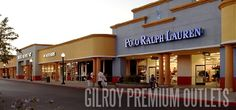 Close to San Francisco Bay area at the gateway to the Central Coast, Gilroy Premium Outlets is owned and operated by Chelsea Property Group which isa Simon Company. Description from factory-outlet-stores.info. I searched for this on bing.com/images