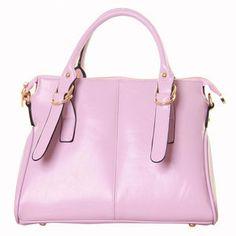 Office Lady Simple Double Handle Tote Shoulder Bag Handbag