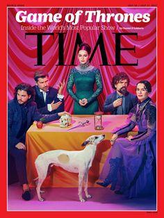 Time magazine, game of thrones. Kit Harington, Emilia Clarke, Lena Headley, Peter Dinklage