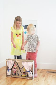 DIY marionettes and puppet theater   KIDS CRAFT Camp on atly.com