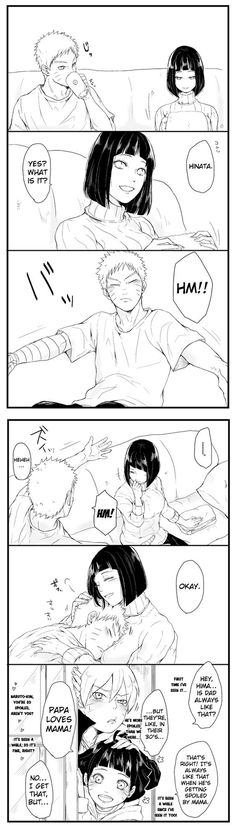Naruhina - Being Spoiled And Pampered by bluedragonfan on Deviantart