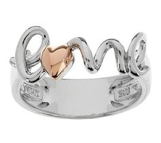 """This ring is even sweeter in person... """"Love"""" Ring"""