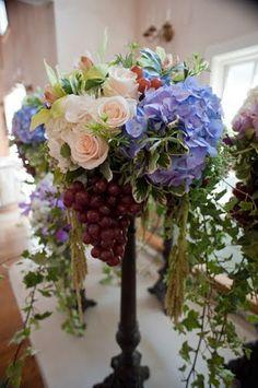 grape centerpieces