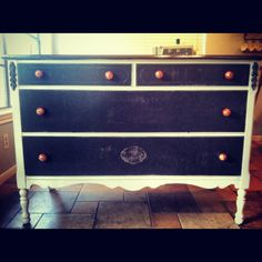 Refinished dresser, probably going to use as a tv stand :)
