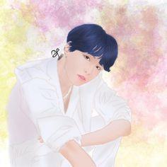 #BTS #Suga #btsfanart #fanart #digital #painting #kpopfanart Kpop Fanart, Bts Suga, Fan Art, Digital, Anime, Painting, Instagram, Painting Art, Cartoon Movies