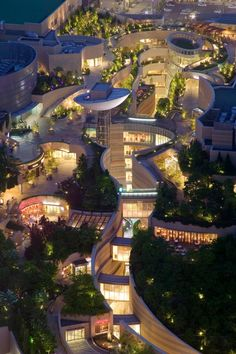 Namba Parks, Osaka, Japan Confusingly pretty