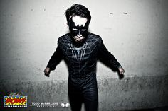Design a superhero outfit for Laidback Luke to be worn at his SuperYou party in Governor's Island, New York.