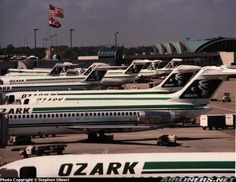 Photos: McDonnell Douglas DC-9-32 Aircraft Pictures | Airliners.net Ozark Airlines