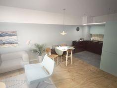 obývacia izba - Skp8+V-ray+PS CS5