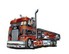 camiones dibujos