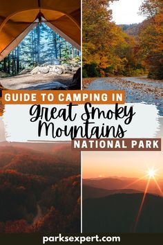 It can be challenging to decide where to stay when camping in Great Smoky Mountains National Park, but this ultimate guide to all 9 campgrounds makes it easy. | camping in great smoky mountains national park | great smoky mountains campgrounds | great smoky mountains camping | #greatsmokymountains #greatsmokymountainsnationalpark