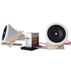 Ceramic Speaker Set Version 2 Joey Roth