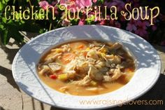 "Chicken Tortilla Soup: Found on My Top 10 ""Freezer Meal 2 Crock Pot"" Recipes! by Raising Clovers - These are awesome recipes! They are all my family's favorites. They make my life with five kids so much easier!! http://www.raisingclovers.com/2014/05/01/my-top-10-freezer-meal-2-crock-pot-recipes/"
