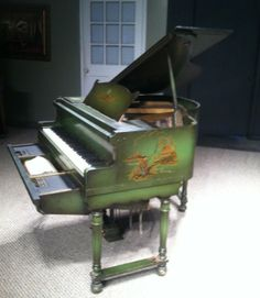 Lyric Marionette Chinese Chippendale Style Mini-Grand Player Piano | The Antique Piano Shop