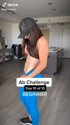 20 Min Workout, Gym Workout Videos, Gym Workout For Beginners, Fitness Workout For Women, Butt Workout, Workout Challenge, Fun Workouts, Kickboxing Workout, Gymnastics Workout