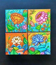 33 ideas for wall flower mural painted Kerala Mural Painting, Madhubani Painting, Kalamkari Painting, Pichwai Paintings, Indian Art Paintings, Flower Mural, Flower Tiles, Geometric Artwork, Lotus Art