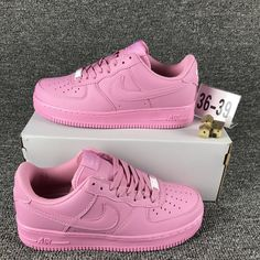 Beautiful Nike Air Force 1 Low Pink 628313 991 Women's Casual Shoes Sneakers - My Style - # Nike Air Force One, Air Force 1, Nike Air Shoes, Nike Air Max, Skate Shoes, Golf Shoes, Cute Sneakers, Shoes Sneakers, Sneakers Women