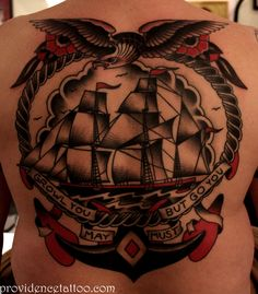 Ship #traditional #tattoo