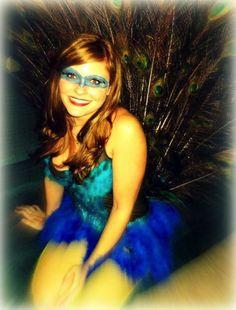 #DIY Halloween Peacock #Costume