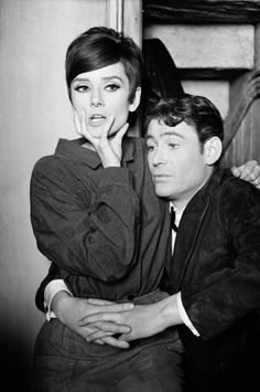 Audrey Hepburn and Peter O'Toole in How to Steal A Million (1966).