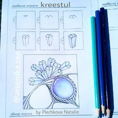 Kreestul Zentangle pattern