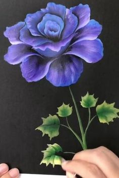 Acrylic Painting Flowers, Acrylic Painting Techniques, Acrylic Art, Diy Painting, Watercolor Flowers, Watercolor Art, Flower Paintings On Canvas, Painting Flowers Tutorial, Lilac Painting