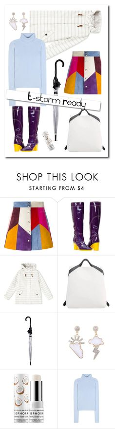 """""""T-storm Ready"""" by sara-cdth ❤ liked on Polyvore featuring Marc Jacobs, Dash, Fulton, Sephora Collection, Jacquemus and White Label"""