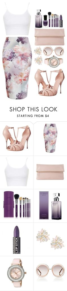 """""""Spring is coming!"""" by teryblueberry ❤ liked on Polyvore featuring Alexander McQueen, New Look, Topshop, Whistles, Sigma, Deborah Lippmann, Calvin Klein, Cara, Ted Baker and Chloé"""