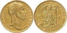 NumisBids: Schulman b.v. Auction 346, Lot 694 : KONINKRIJK DER NEDERLANDEN - WILLEM II 1840–1849 10 Gulden of...