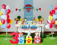 fun paw patrol birthday