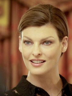 Canadian super model Linda Evangelista listens to journalists questions during a news conference before the 16th Life Ball May 16, 2008. Description from itwinkly.blogspot.com. I searched for this on bing.com/images