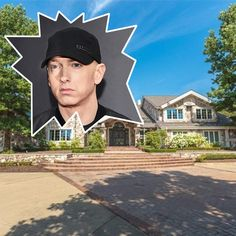 Real Estate News, Luxury Real Estate, Rochester Hills, The Real Slim Shady, Green Ground, State Of Michigan, Celebrity Houses, Eminem, Hanging Out