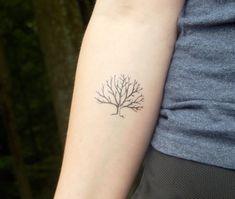 Tatouage temporaire tatouage arbre branche par SymbolicImports