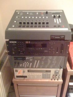 SP1200, ASR-10, S950 sampling