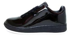 """""""Nike Air Force 1 Low Supreme All-Black Patent Leather shoes"""" https://sumally.com/p/757575"""